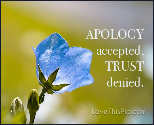 Apology Accepted Pictures Photos And Images For Facebook
