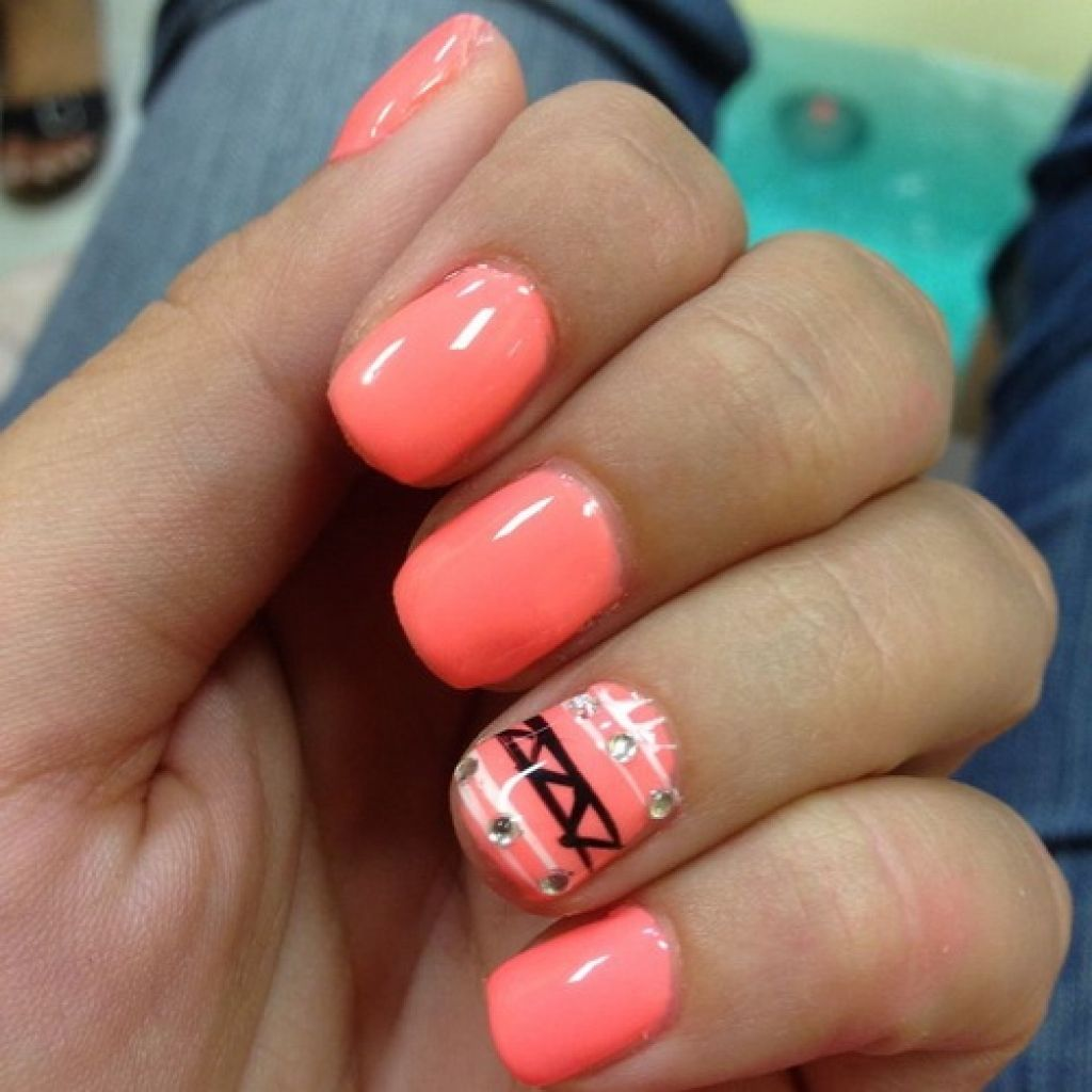 Coral Nails Designs - Coral Nails Designs Pictures, Photos, And Images For Facebook