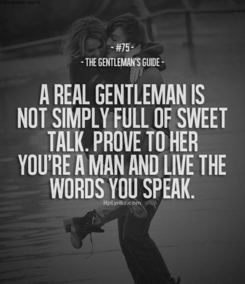 a real gentleman quotes - photo #17