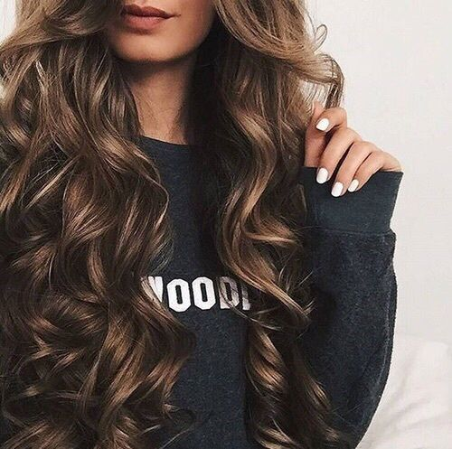 Brown Curly Long Hair Pictures, Photos, and Images for ...