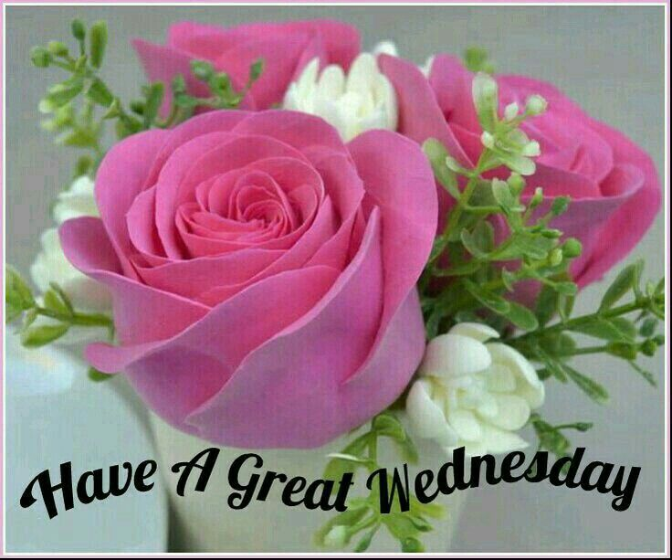 113 best happy Wednesday images on Pinterest | Happy ... |Wednesday Flowers