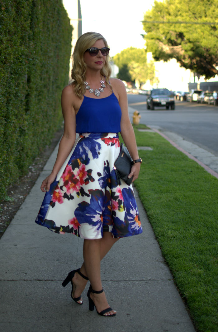 eece851ccc Floral Print Midi Skirt Pictures, Photos, and Images for Facebook ...