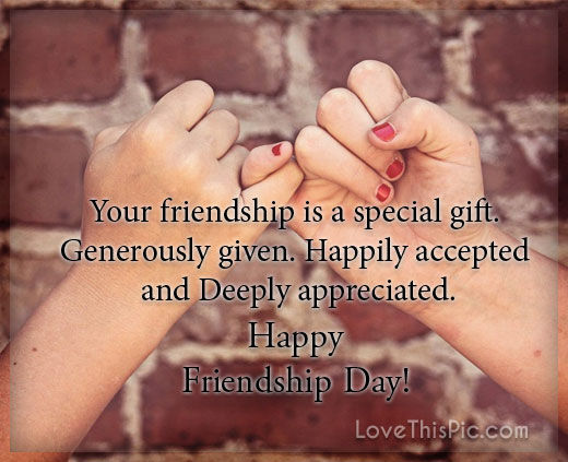 Your Friendship Is A Special Gift Pictures, Photos, and