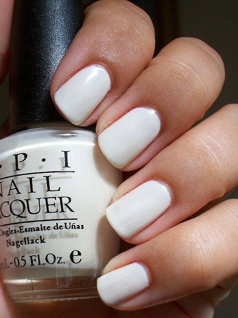 Opi White Gel Nail Polish: White OPI Nails Pictures, Photos, And Images For Facebook