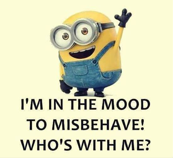 I M In The Mood To Misbehave Who S With Me Pictures