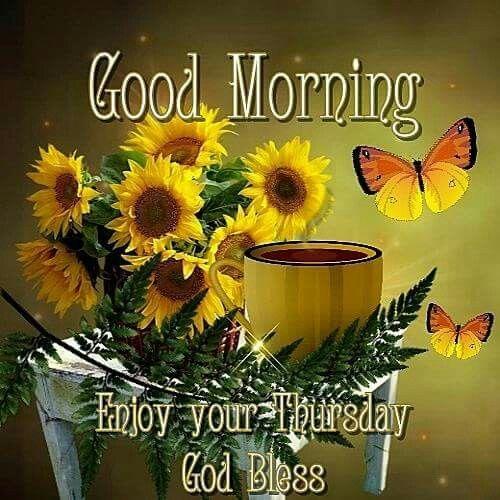 Good Morning, Enjoy Your Thursday, God Bless Pictures