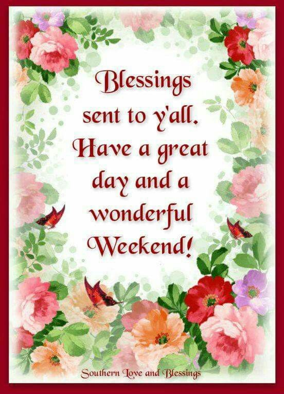 Image result for weekend blessings