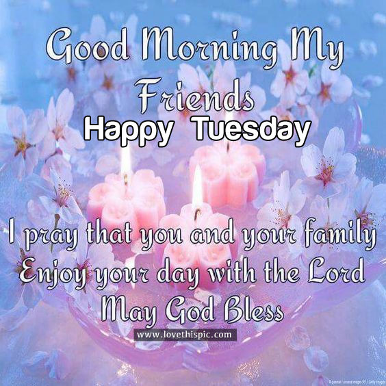 Good Morning My Love Happy Tuesday : Good morning my friends happy tuesday pictures photos