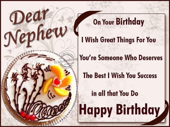 Dear Nephew, Happy Birthday Pictures, Photos, And Images