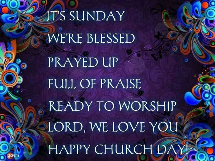 It's Sunday Happy Church Day Pictures, Photos, And Images