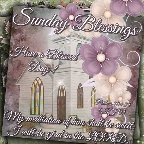 Sunday Morning Religious Quotes: Sunday Blessings Psalm Bible Quote Pictures, Photos, And
