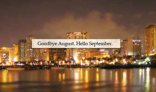 goodbye august hello september pictures photos and