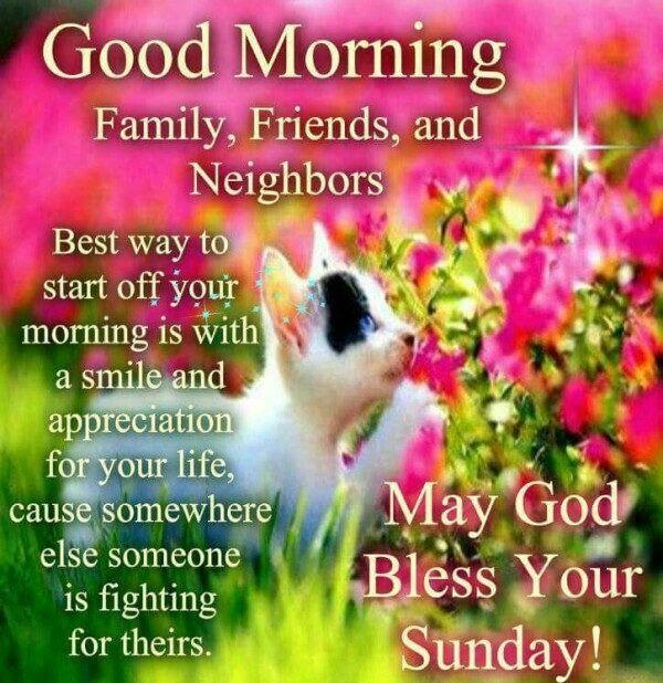 Good Morning Sunday God Photos : Good morning may god bless your sunday pictures photos