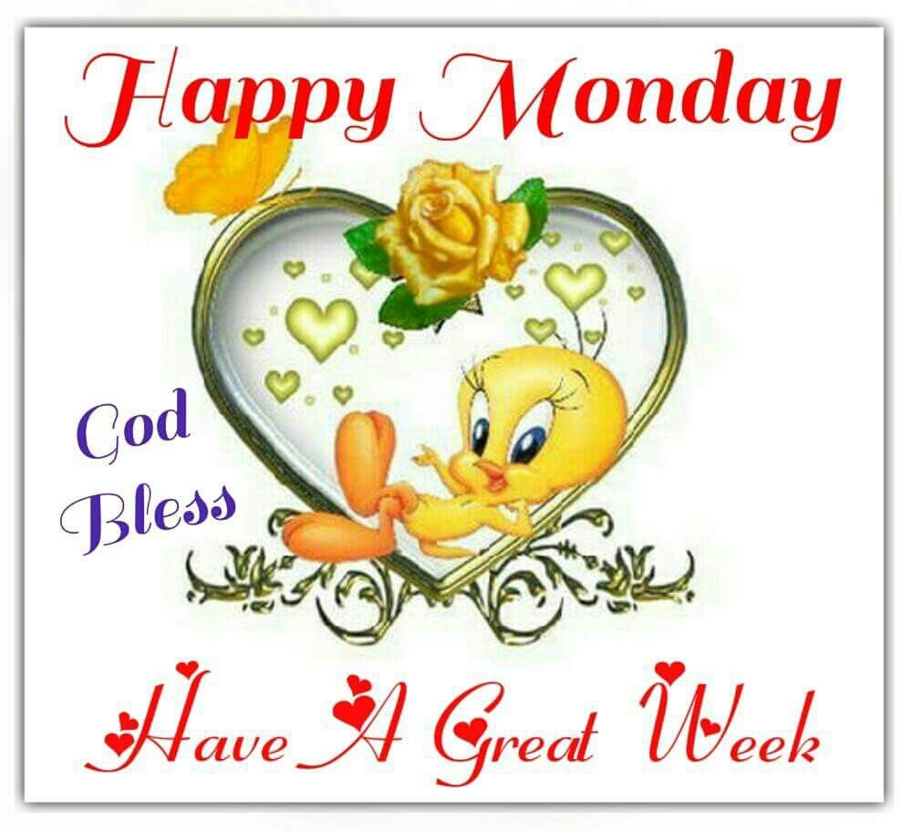 Happy monday have a great week pictures photos and images for happy monday have a great week m4hsunfo Image collections