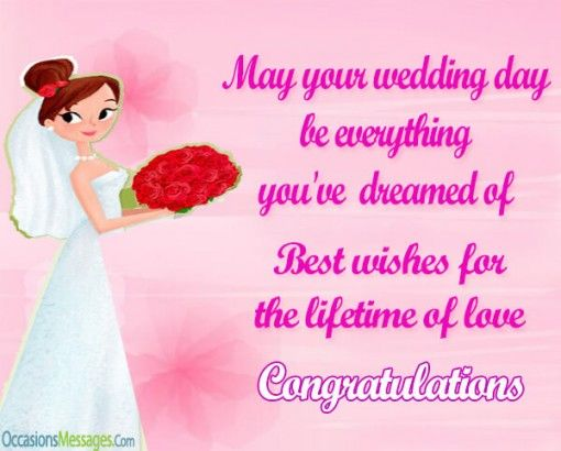 Bride Congratulations Messages Pictures Photos And