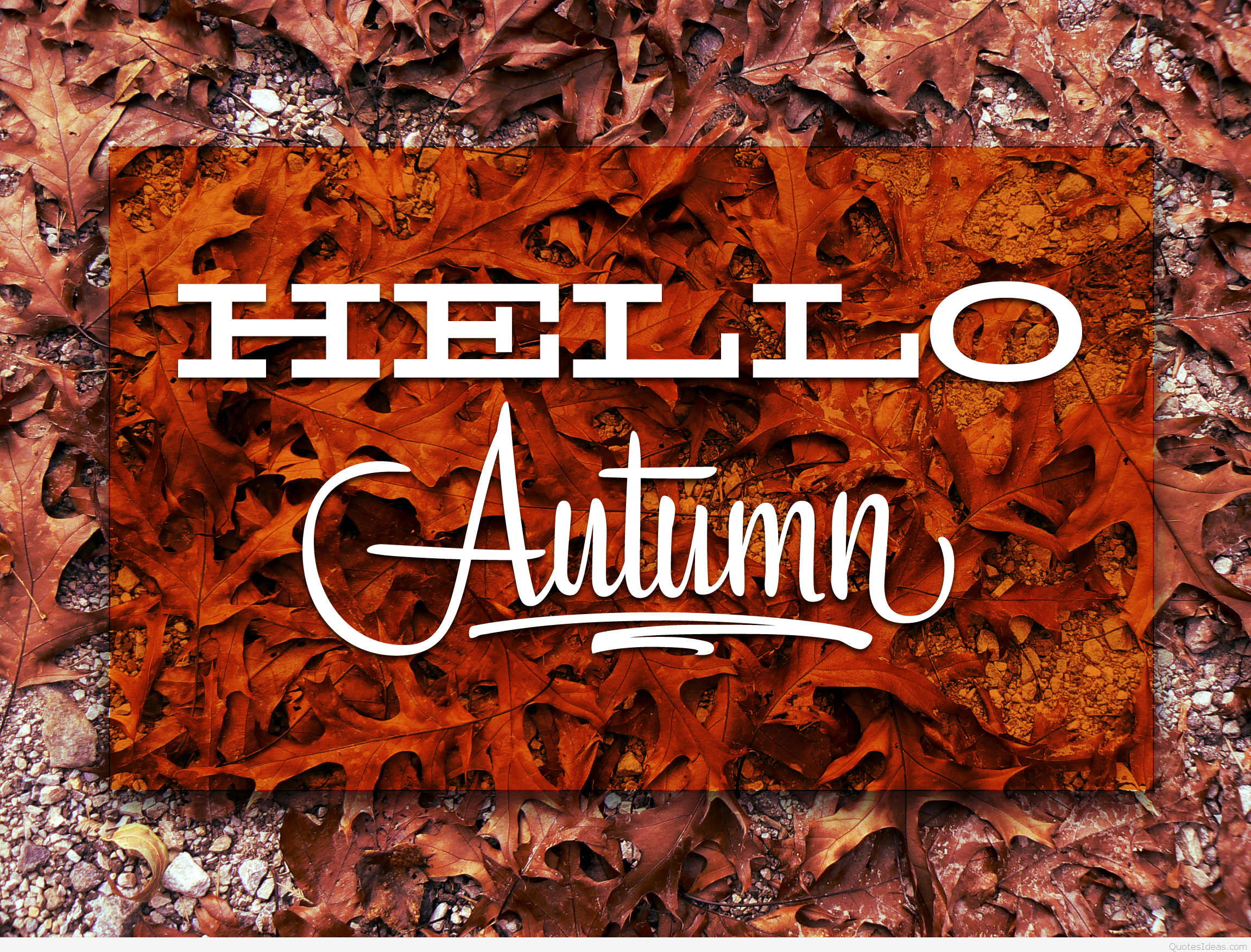 Hello Autumn Pictures Photos And Images For Facebook