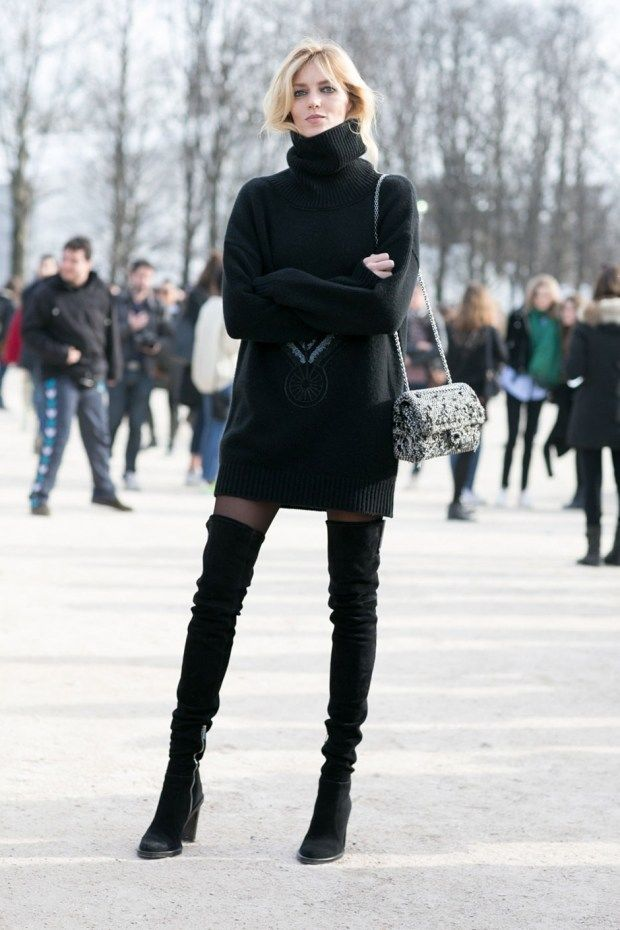 black suede boots outfits - photo #24