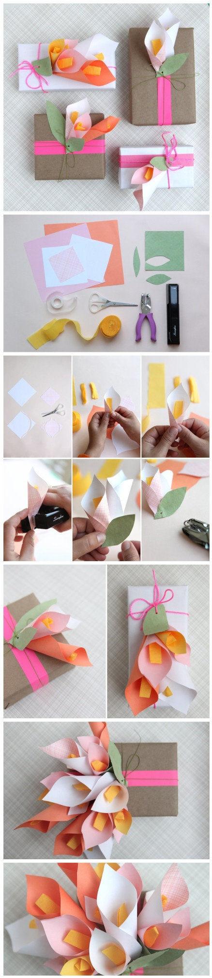 DIY Craft Gift Wrap