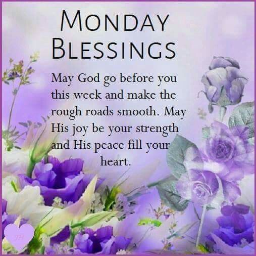Monday blessings pictures photos and images for facebook - Monday blessings quotes and images ...