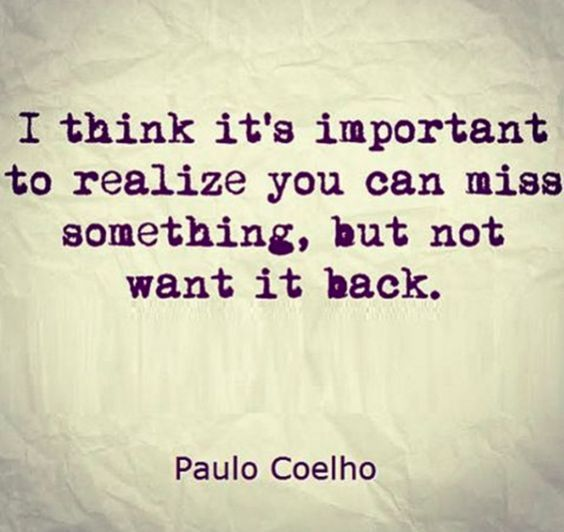 I Miss You Badly Quotes: I Think It's Important To Realize You Can Miss Something