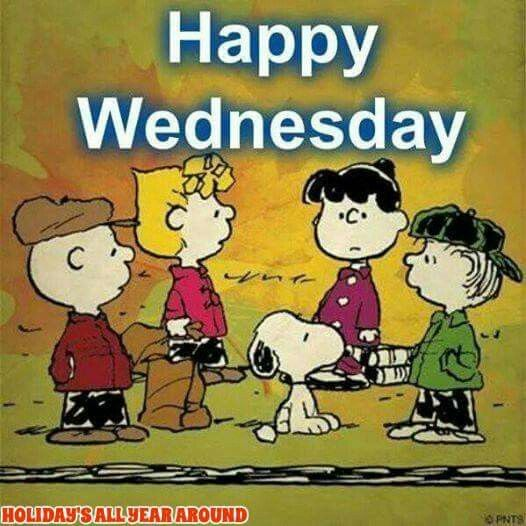 Happy New Year Charlie Brown Quotes: Happy Wednesday Peanuts Gang Image Pictures, Photos, And
