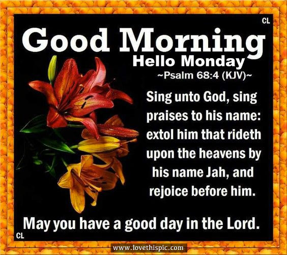 Good Morning Quotes And Images For Monday : Good morning hello monday pictures photos and images