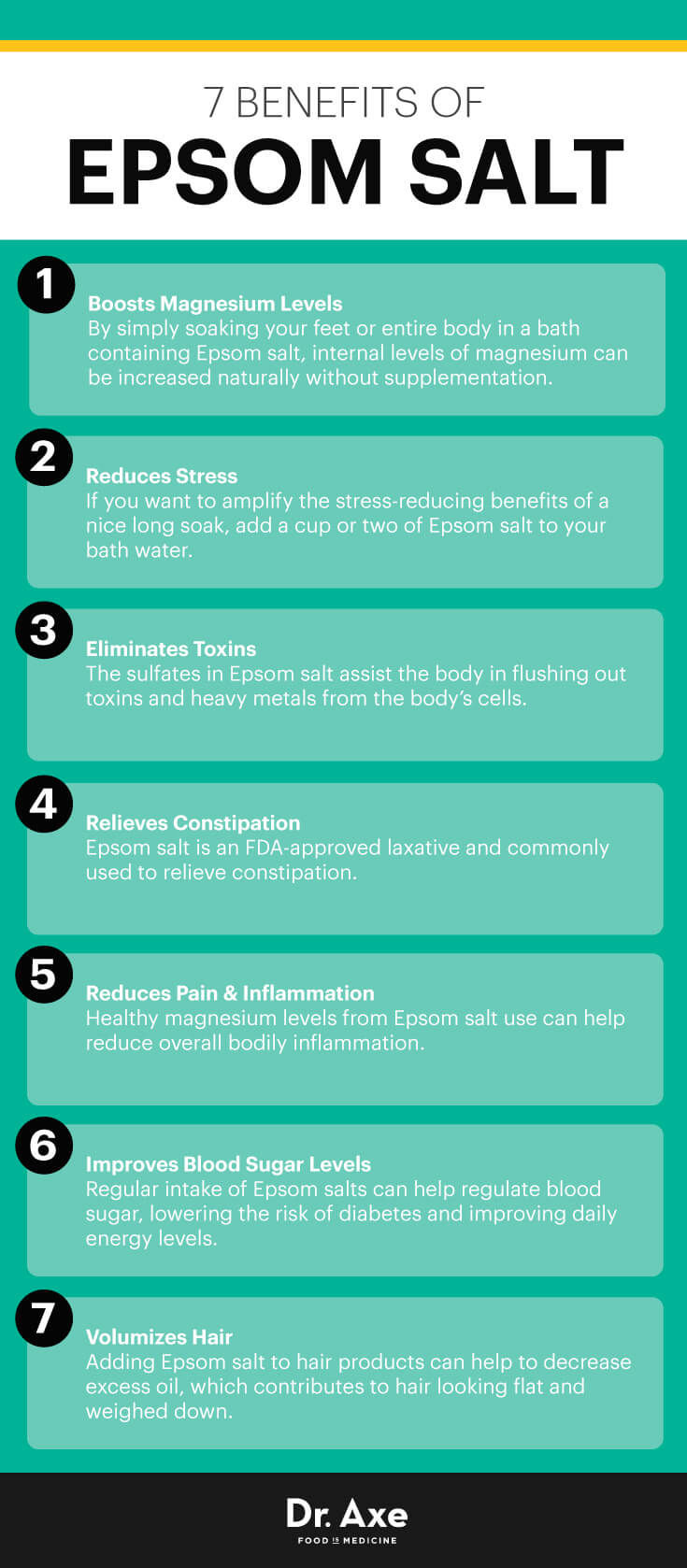 7 Benefits Of Epsom Salt Pictures  Photos  And Images For Facebook  Tumblr  Pinterest  And Twitter
