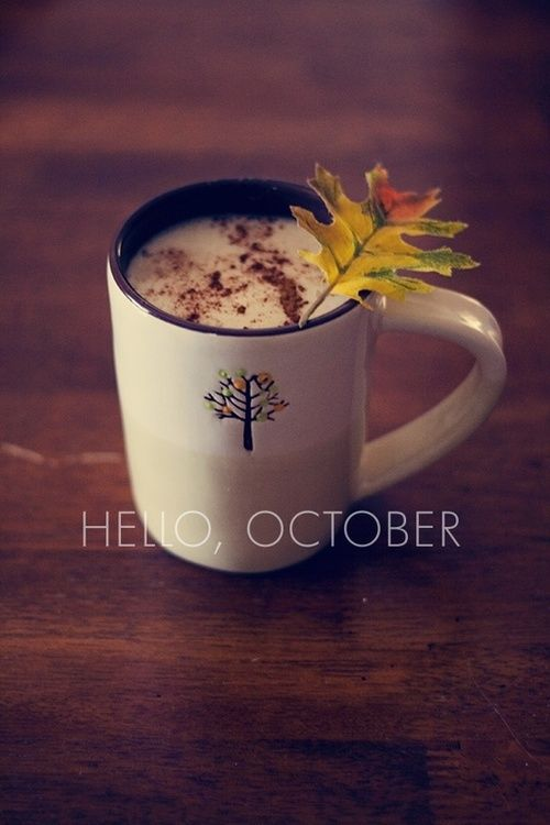 Morning Coffee: Hello October Pictures, Photos, And Images For Facebook