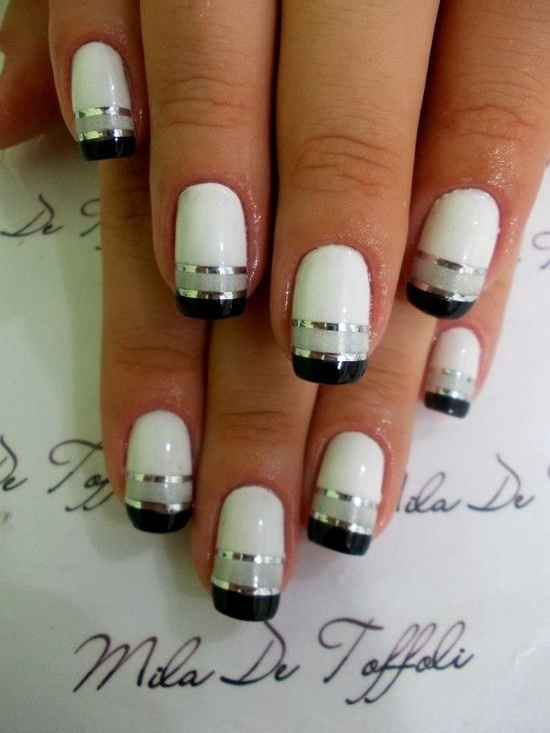 Double french tip nails pictures photos and images for facebook double french tip nails prinsesfo Gallery