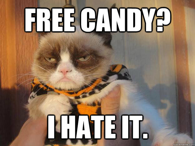 Reasons For No Other I Hate You Meme: Free Candy? I Hate It Pictures, Photos, And Images For