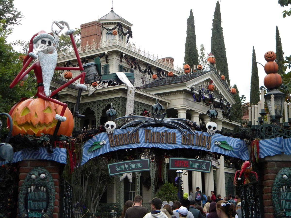 nightmare before christmas haunted mansion - Haunted Mansion Nightmare Before Christmas