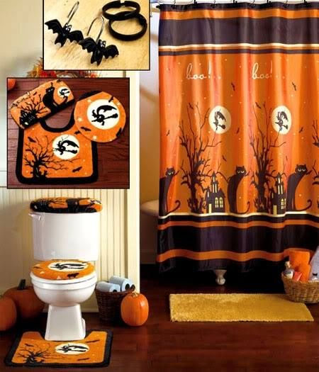 Halloween Bathroom Set Pictures Photos And Images For
