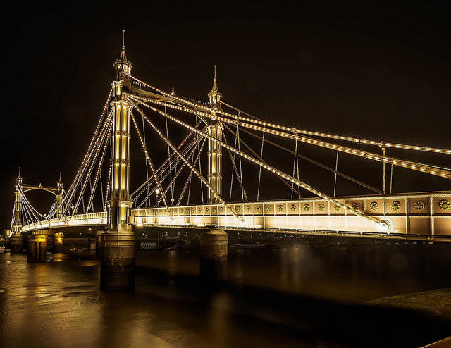 Albert Bridge London Pictures Photos And Images For