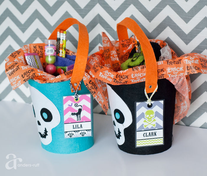 Halloween Trick Or Treat Baskets Pictures Photos And