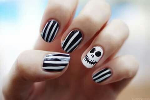 Jack Skellington Nail Art - Jack Skellington Nail Art Pictures, Photos, And Images For
