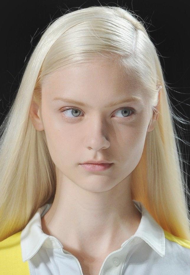 Pale blonde teen porn