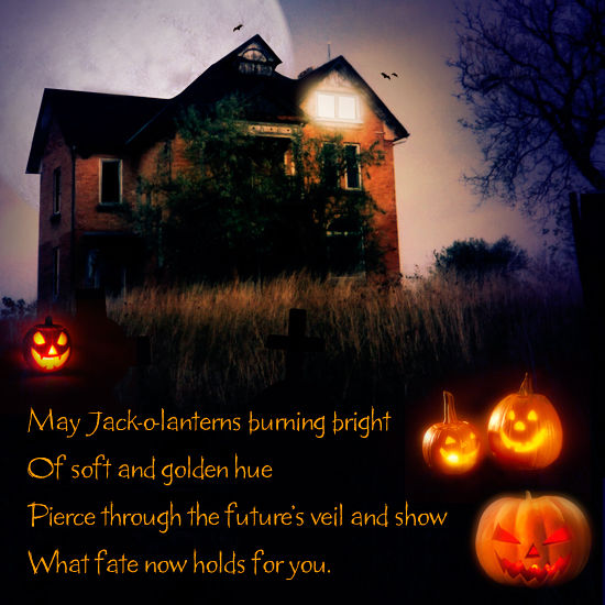 50 Best Happy Halloween Quotes Wishes Greetings And Sayings With Pictures: May Jack-o-lanterns Burning Bright... Pictures, Photos