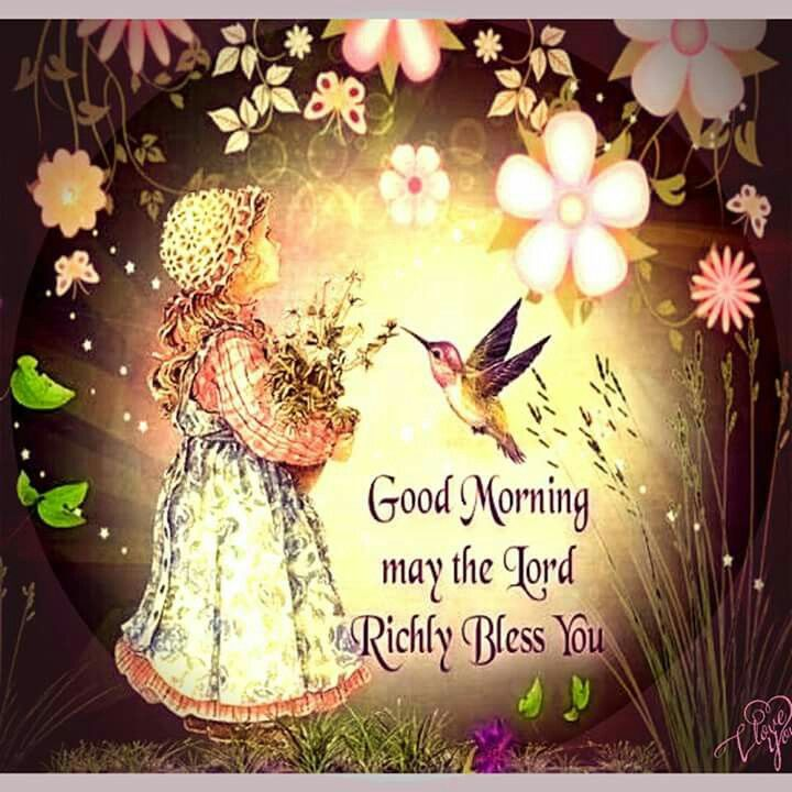 Good Morning May The Lord Richly Bless You Pictures ...