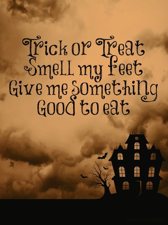 Trick Or Treat Smell My Feet Pictures Photos And Images