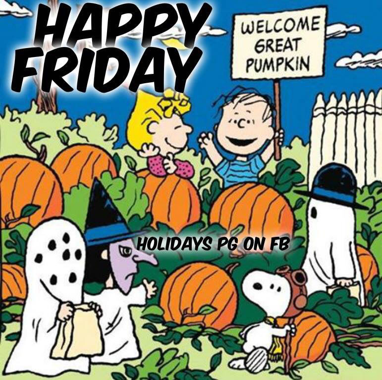 Happy friday snoopy halloween quote pictures photos and - Snoopy halloween images ...