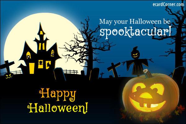 may your halloween be spooktacular happy halloween
