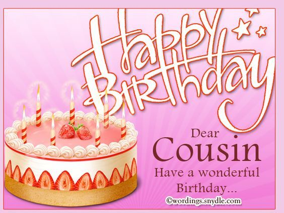 Happy Birthday Dear Cousin Pictures Photos And Images