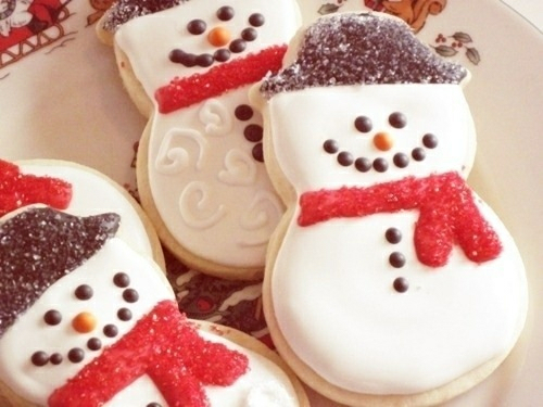 Snowman Christmas Cookies Pictures Photos And Images For Facebook