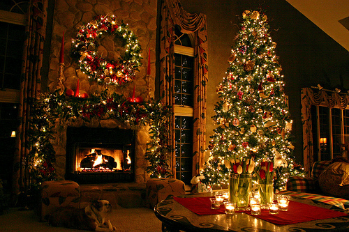 Decorated Christmas Living Room Pictures Photos And Images For Facebook Tumblr Pinterest