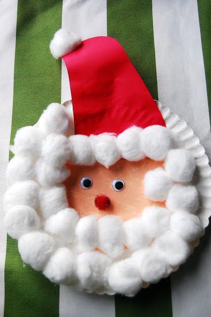 Paper Plate Santa Craft & Paper Plate Santa Craft Pictures Photos and Images for Facebook ...