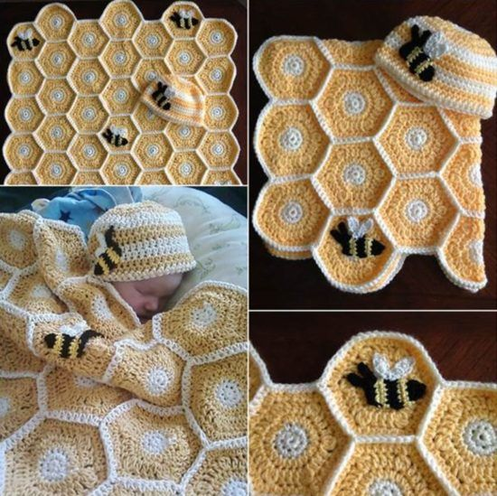 Honey Comb Crochet Pictures Photos And Images For