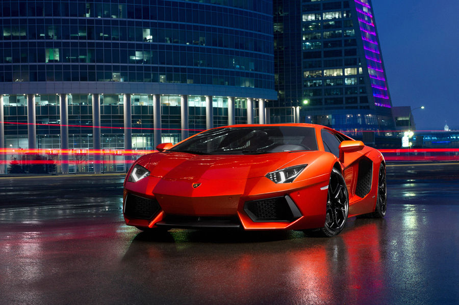 Fire Red Lamborghini Aventador Pictures Photos And Images For