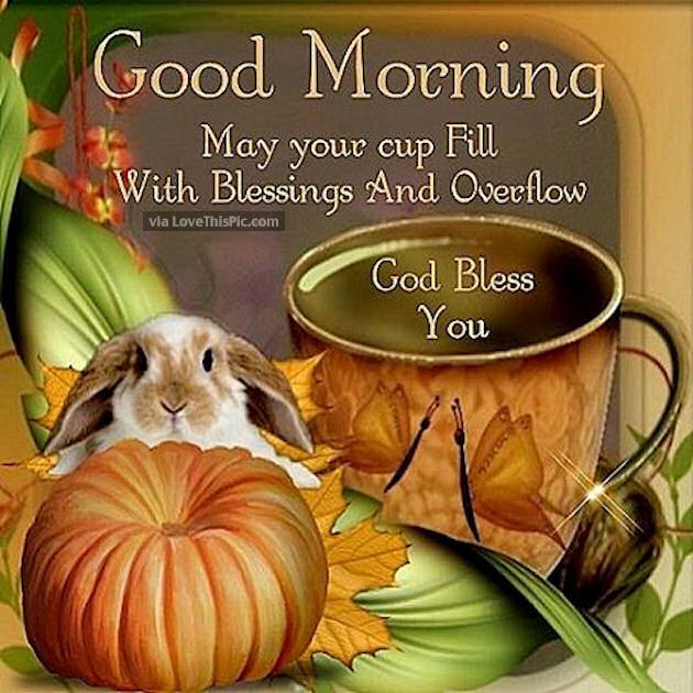 Good Morning May Your Day Be Filled With Blessings God