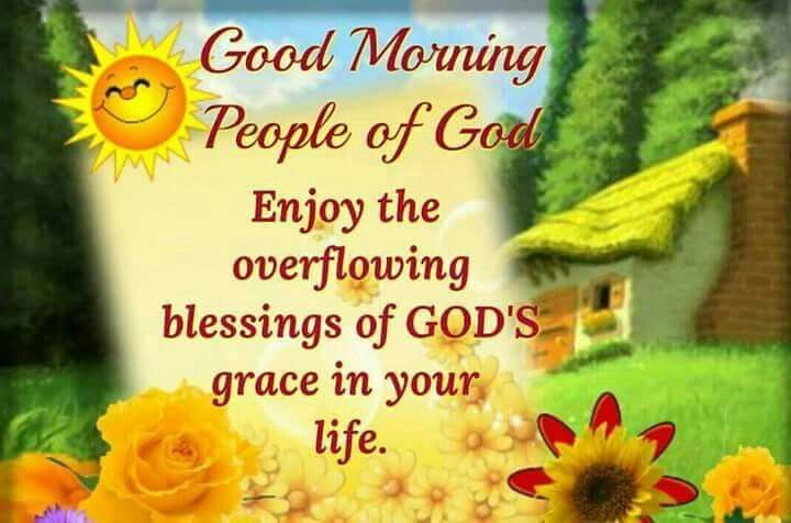 Gods Morning