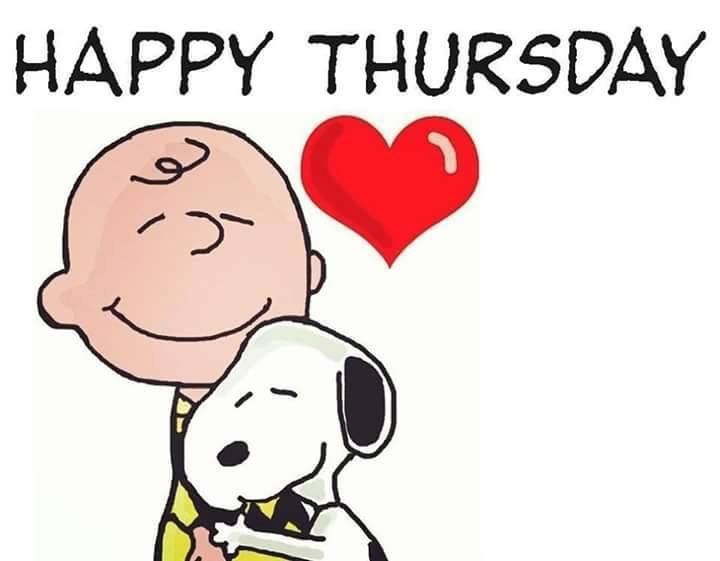 Happy Thursday Charlie Brown And Snoopy Pictures Photos